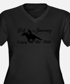 Life is a Journey, Enjoy the Ride Plus Size T-Shir