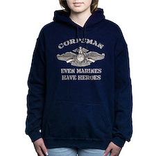 Navy Corpsman Women's Hooded Sweatshirt