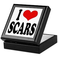 I Love Scars Keepsake Box