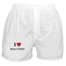 I Love Balconies Boxer Shorts