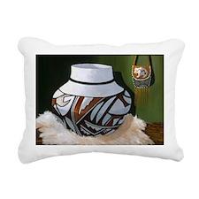 Unique Pot Rectangular Canvas Pillow