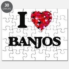 I Love Banjos Puzzle