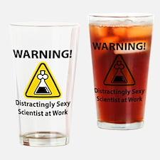 Unique Female scientist Drinking Glass