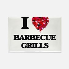 I Love Barbecue Grills Magnets
