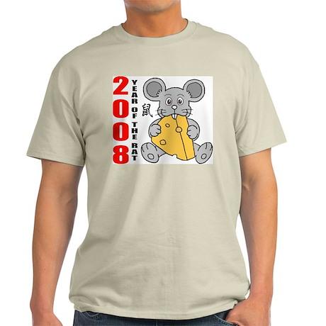Year of The Rat 2008 Light T-Shirt