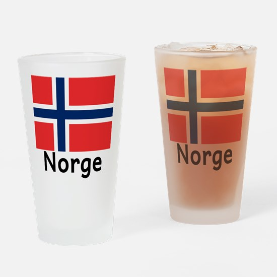 Norge Drinking Glass