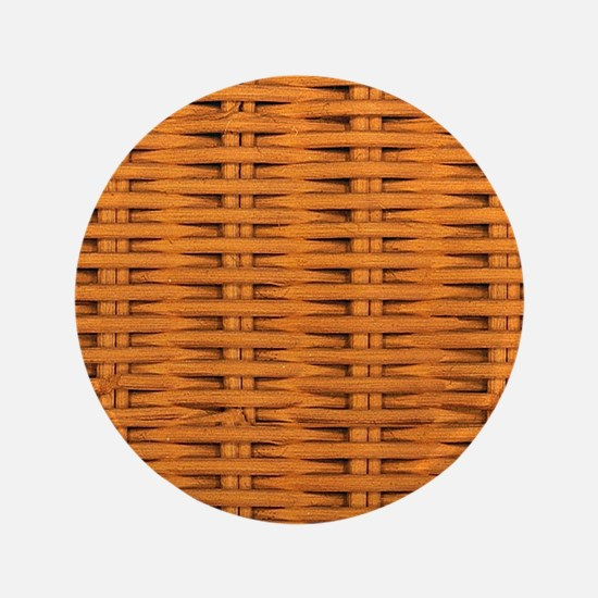 Bamboo Weave Button