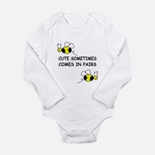 Unique Funny boy Long Sleeve Infant Bodysuit