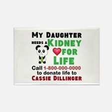 Personalize, Kidney Donation Rectangle Magnet