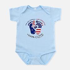 New Zealand American Baby Body Suit