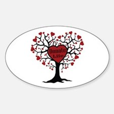 Donate Life Tree Decal