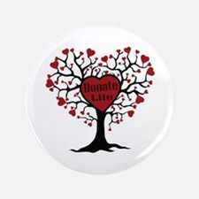 Donate Life Tree Button