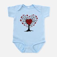 Donate Life Tree Infant Bodysuit