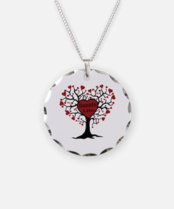 Donate Life Tree Necklace