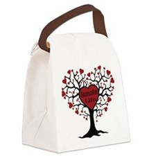 Donate Life Tree Canvas Lunch Bag