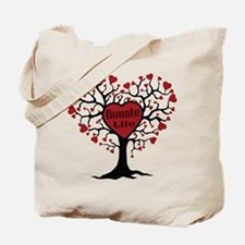 Donate Life Tree Tote Bag