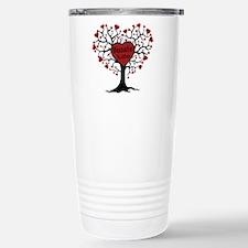 Donate Life Tree Stainless Steel Travel Mug