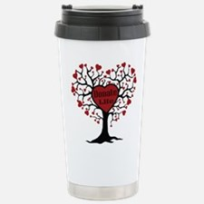 Donate Life Tree Travel Mug