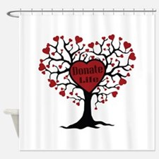 Donate Life Tree Shower Curtain