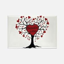 Donate Life Tree Rectangle Magnet