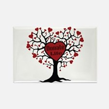 Donate Life Tree Rectangle Magnet (100 pack)