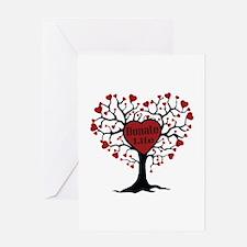 Donate Life Tree Greeting Card