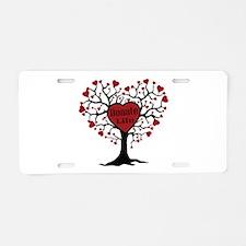 Donate Life Tree Aluminum License Plate