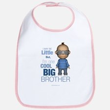 Little Cool Big Brother Bib