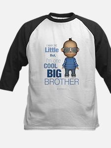 Little Cool Big Brother Kids Baseball Jersey