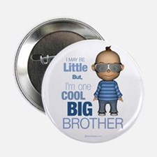 """Little Cool Big Brother 2.25"""" Button"""