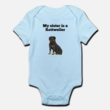 My Sister Is A Rottweiler Body Suit