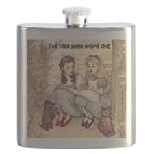 Dorothy and Alice Flask