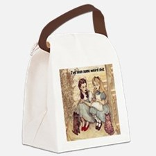 Dorothy and Alice Canvas Lunch Bag