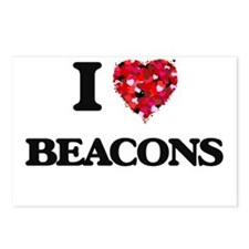 I Love Beacons Postcards (Package of 8)