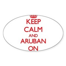 Keep Calm and Aruban ON Decal