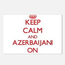Keep Calm and Azerbaijani Postcards (Package of 8)