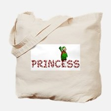 Candy Cane Princess Tote Bag