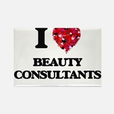 I Love Beauty Consultants Magnets