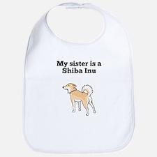 My Sister Is A Shiba Inu Bib