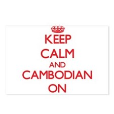 Keep Calm and Cambodian O Postcards (Package of 8)