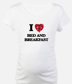 I Love Bed And Breakfast Shirt