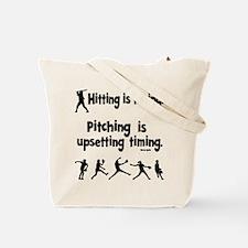 UPSET TIMING (both sides) Tote Bag