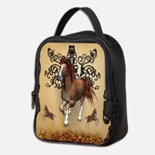 Awesome horse Neoprene Lunch Bag