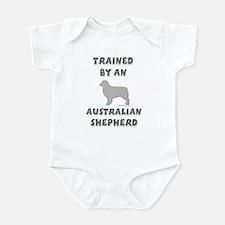 Aussie Shepherd Slvr Infant Bodysuit