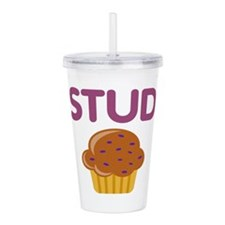 Stud Muffin Acrylic Double-Wall Tumbler