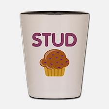 Stud Muffin Shot Glass