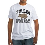 Team Wombat Tee-Shirt Fitted
