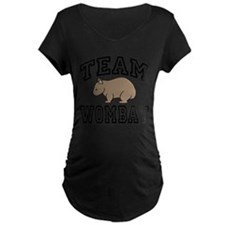 Team Wombat Maternity Tee-Shirt Dark