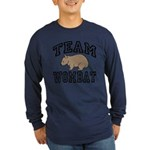 Team Wombat Long Sleeve Dark T-Shirt