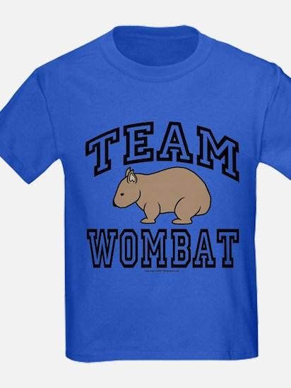 Kids Team Wombat Tee-Shirt Dark